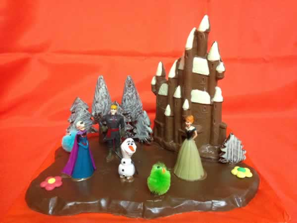 Castillo de Chocolate Nº1