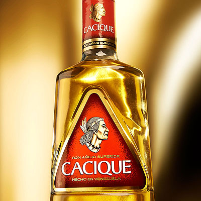 Botella Ron Cacique, 75 cl