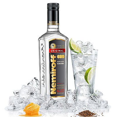 Botella Vodka Nemiroff, 75 cl