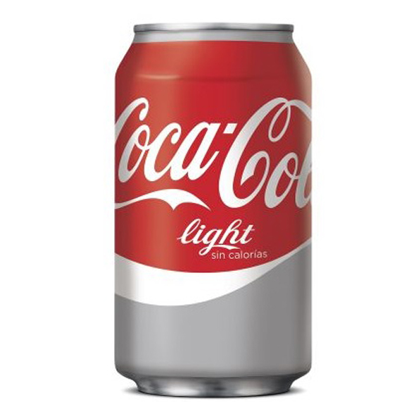 Coca Cola Light, bote 33 cl